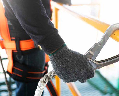 Prevención Laboral en Trabajos Realizados en Altura